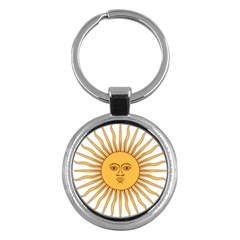 Argentina Sun of May  Key Chains (Round)