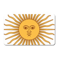 Argentina Sun of May  Magnet (Rectangular)