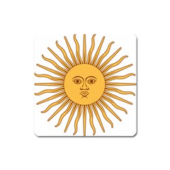 Argentina Sun of May  Square Magnet