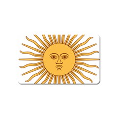 Argentina Sun of May  Magnet (Name Card)