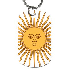 Argentina Sun of May  Dog Tag (One Side)