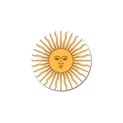 Argentina Sun of May  Golf Ball Marker (4 pack)