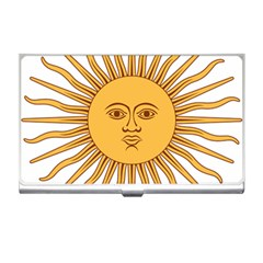 Argentina Sun of May  Business Card Holders
