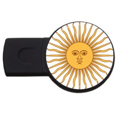 Argentina Sun of May  USB Flash Drive Round (2 GB)