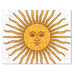Argentina Sun of May  Rectangular Jigsaw Puzzl