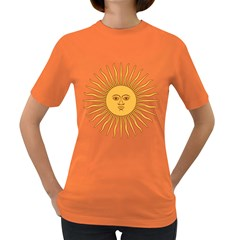 Argentina Sun of May  Women s Dark T-Shirt