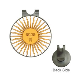 Argentina Sun of May  Hat Clips with Golf Markers