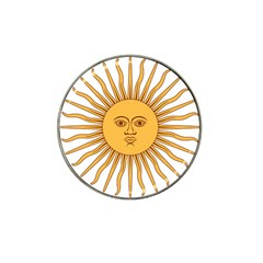 Argentina Sun of May  Hat Clip Ball Marker