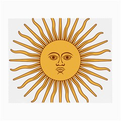 Argentina Sun of May  Small Glasses Cloth