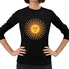 Argentina Sun of May  Women s Long Sleeve Dark T-Shirts