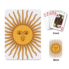 Argentina Sun of May  Playing Card