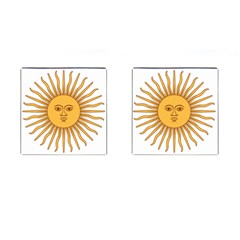 Argentina Sun of May  Cufflinks (Square)