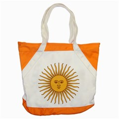Argentina Sun of May  Accent Tote Bag