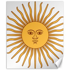 Argentina Sun of May  Canvas 8  x 10