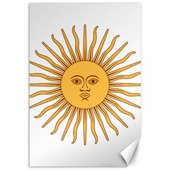 Argentina Sun of May  Canvas 12  x 18