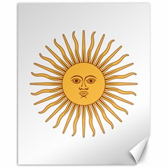 Argentina Sun of May  Canvas 16  x 20