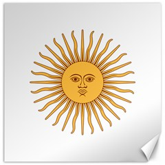 Argentina Sun of May  Canvas 20  x 20