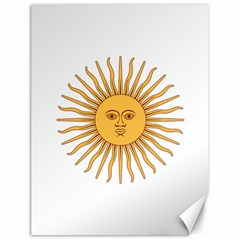 Argentina Sun of May  Canvas 18  x 24