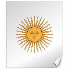 Argentina Sun of May  Canvas 20  x 24