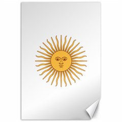 Argentina Sun of May  Canvas 20  x 30