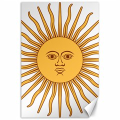 Argentina Sun of May  Canvas 24  x 36