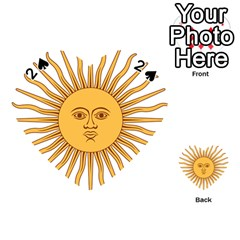 Argentina Sun of May  Playing Cards 54 (Heart)