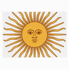 Argentina Sun of May  Large Glasses Cloth (2-Side)