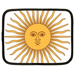 Argentina Sun of May  Netbook Case (Large)