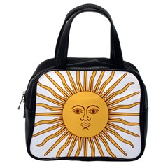 Argentina Sun of May  Classic Handbags (One Side)