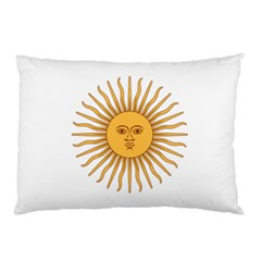 Argentina Sun of May  Pillow Case
