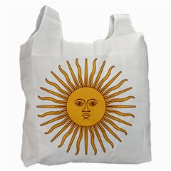 Argentina Sun of May  Recycle Bag (Two Side)
