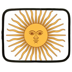 Argentina Sun of May  Netbook Case (XL)