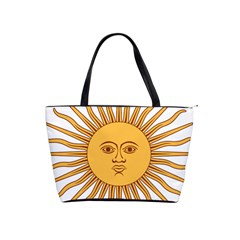 Argentina Sun of May  Shoulder Handbags