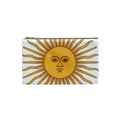 Argentina Sun of May  Cosmetic Bag (Small)