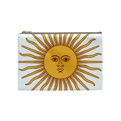 Argentina Sun of May  Cosmetic Bag (Medium)