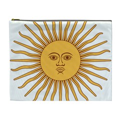 Argentina Sun of May  Cosmetic Bag (XL)