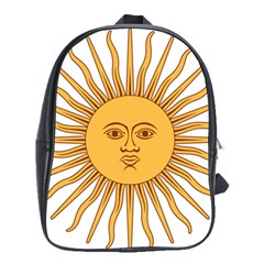 Argentina Sun of May  School Bags(Large)