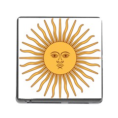 Argentina Sun of May  Memory Card Reader (Square)