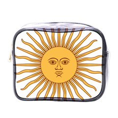 Argentina Sun of May  Mini Toiletries Bags