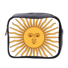 Argentina Sun of May  Mini Toiletries Bag 2-Side