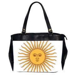 Argentina Sun of May  Office Handbags (2 Sides)
