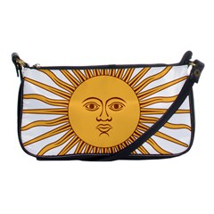 Argentina Sun of May  Shoulder Clutch Bags