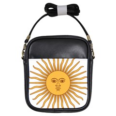 Argentina Sun of May  Girls Sling Bags