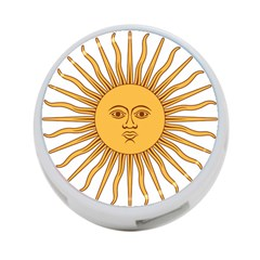 Argentina Sun of May  4-Port USB Hub (One Side)