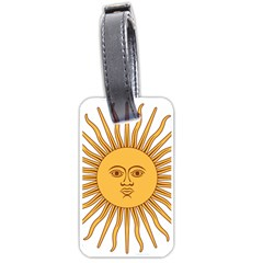 Argentina Sun of May  Luggage Tags (Two Sides)