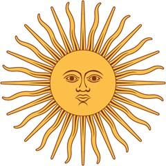Argentina Sun of May  Magic Photo Cubes