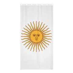 Argentina Sun of May  Shower Curtain 36  x 72  (Stall)