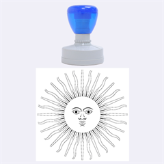 Argentina Sun of May  Rubber Round Stamps (Large)