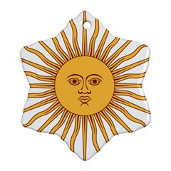 Argentina Sun of May  Ornament (Snowflake)