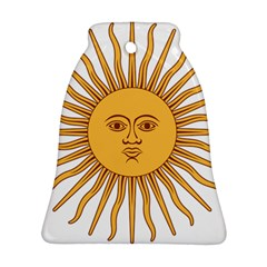 Argentina Sun of May  Ornament (Bell)